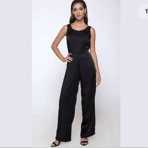 Kaios Cutout Jumpsuit in Black by Motel  M30